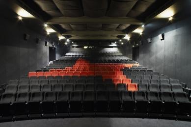 Rekonstrukce kina Světozor - Promítací sál - foto: © Andrea Lhotáková