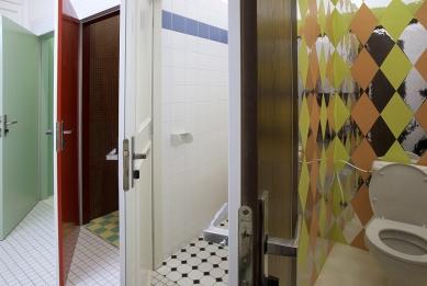 Rekonstrukce kina Světozor - Dámské toalety - foto: © Andrea Lhotáková