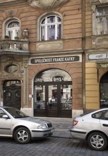 Knihkupectví Franze Kafky a knihovna Franze Kafky - foto: © Andrea Lhotáková