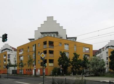 Čtvrť Kirchsteigfeld - Wilhelm Holzbauer - foto: Martin Horáček