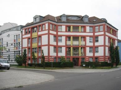 Čtvrť Kirchsteigfeld - Krier - Kohl - foto: Martin Horáček