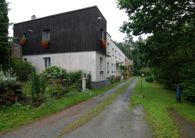 Kolonie rodinných dělnických domků - foto: Jan Kratochvíl, 08.2008