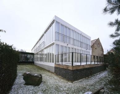 Přístavba Sanatoria dr. Petáka - foto: Andrea Lhotáková