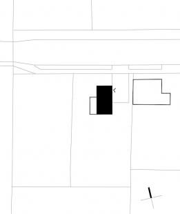 Dům mezi stromy - Situace - foto: ARCHTEAM