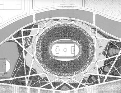National Stadium - Situace - foto: Herzog & de Meuron
