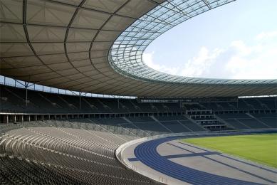 Berlínský olympijský stadion - foto: Petr Šmídek, 2008