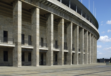Berlínský olympijský stadion - foto: Ester Havlová, 2008