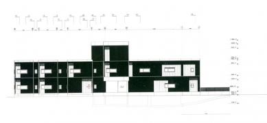 Policejní stanice v Boxtel - Západní pohled - foto: IR Wiel Arets Architect & Associates
