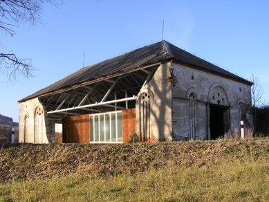 Projekt adaptace volně stojící stodoly - foto: VELEK, VELKOVÁ, VELEK ARCHITEKTI