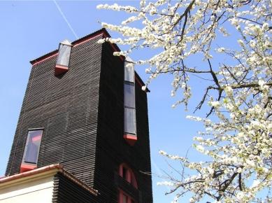 Přestavba vodárenské věže na bydlení - foto: VELEK, VELKOVÁ, VELEK ARCHITEKTI