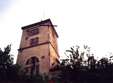 Přestavba vodárenské věže na bydlení - Původní stav - foto: VELEK, VELKOVÁ, VELEK ARCHITEKTI