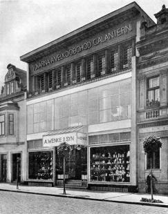 Wenkeův obchodní dům - foto: archiv redakce