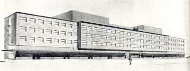 Ředitelství ČSD v Hradci Králové - Perspektiva - foto: archiv redakce