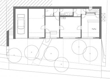 Rodinný dům s ordinací - Přízemí - foto: Atelier K2