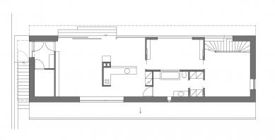 Rodinný dům s ordinací - Patro - foto: Atelier K2