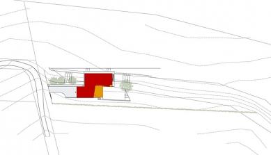 Rodinný dům ve Veverských Knínicích - Situace - foto: Architektonická kancelář Burian-Křivinka