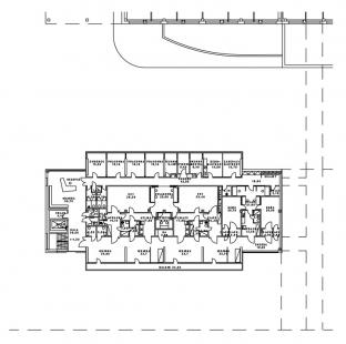 PET Centrum MOÚ - 2NP - foto: Architektonická kancelář Burian-Křivinka
