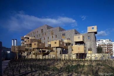 Chateau-le-Lez Housing - foto: © Edouard Francois Architecture
