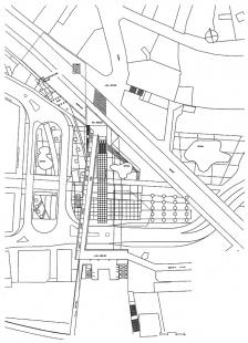 Železnice a autobusové nádraží Lausanne  - Level +12m