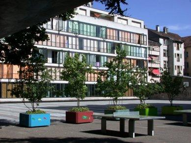 Development of the Dreirosen-Klybeck Schoolhouse - foto: Petr Šmídek, 2003