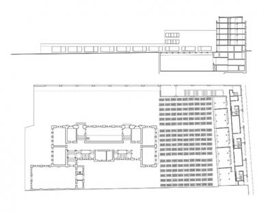 Development of the Dreirosen-Klybeck Schoolhouse - Plány - foto: Morger & Degelo Architekten