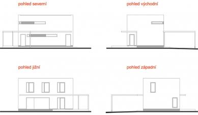 Novostavba rodinného domu v k. ú. Stará Bělá - Pohledy - foto: © ATOS-6