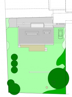 Rodinný dům Družec - Situace - foto: © 3+1 architekti