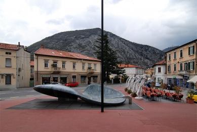 Fountain in Solkan - foto: Petr Šmídek, 2008