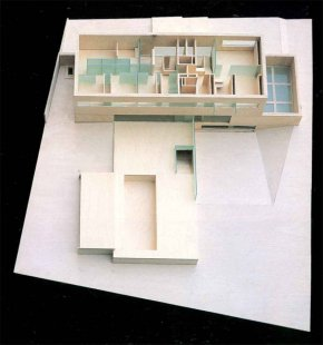 Vlastní dům a studio Wiel Aretse - Model - foto: IR Wiel Arets Architect & Associates