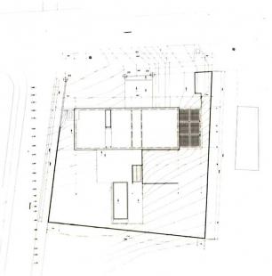 Vlastní dům a studio Wiel Aretse - Situace - foto: IR Wiel Arets Architect & Associates