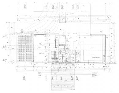 Vlastní dům a studio Wiel Aretse - Půdorys přízemí - foto: IR Wiel Arets Architect & Associates