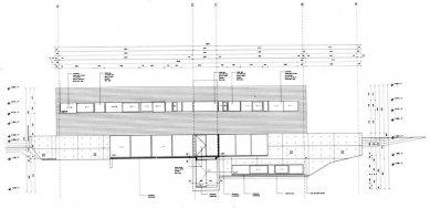 Vlastní dům a studio Wiel Aretse - Východní pohled - foto: IR Wiel Arets Architect & Associates