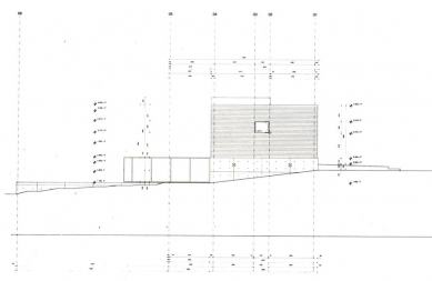 Vlastní dům a studio Wiel Aretse - Severní pohled - foto: IR Wiel Arets Architect & Associates