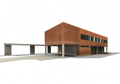 Vila ve Staré Bělé - 3D Model - foto: © ATOS-6