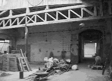 Canon – vestavba do tovární haly - Původní stav