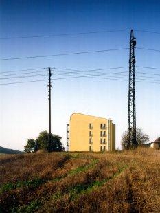 Rekonstrukce panelového domu - foto: Filip Šlapal