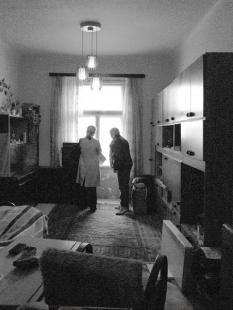 Rekonstrukce bytu 2+kk na Pohořelci - Původní stav - foto: A1Architects