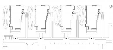 Obytný soubor Chodovec - Situace - foto: S.H.S architekti s.r.o.