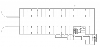 Obytný soubor Chodovec - 1PP - foto: S.H.S architekti s.r.o.