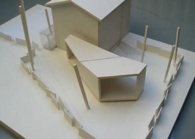 Dům H - Model - foto: © bevk perović arhitekti