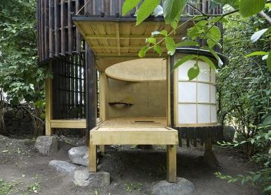 Čajový dům v zahradě - foto: Ester Havlová