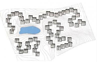 Kingo Housing Project - Situace