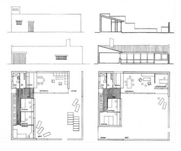 Kingo Housing Project - Výkresy typového domku.