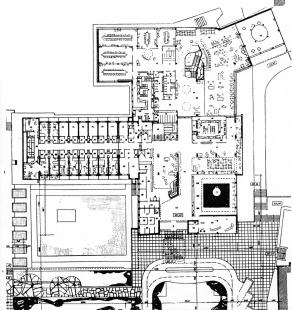 Hotel International - 3NP - foto: Architektura ČSR 1960
