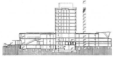 Hotel International - Řez - foto: Architektura ČSR 1960