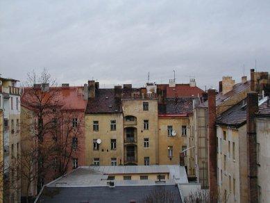 Residential containers, Prague - Původní stav
