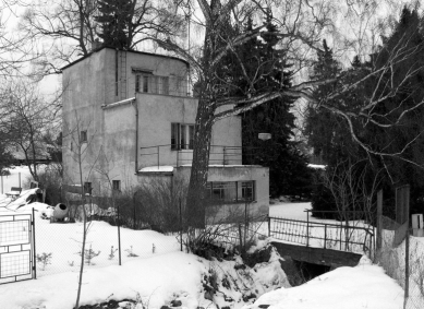 Rekonstrukce funkcionalistické vily - Původní stav - foto: archiv autora