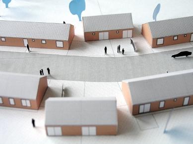Rodinné domy v Běstvině - Fotografie modelu - foto: © Pinkas Žalský architekti