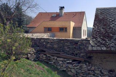 Víkendový dům Čeřeniště - dostavba - foto: Tomáš Rasl