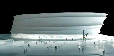 Koncertní hala Zénith - Model - foto: © Massimiliano Fuksas Architetto